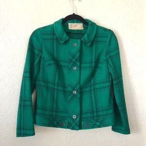 HANRO | Vintage Green blazer